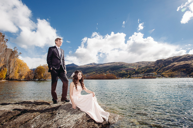 New zealand queenstown pre wedding carol stephen