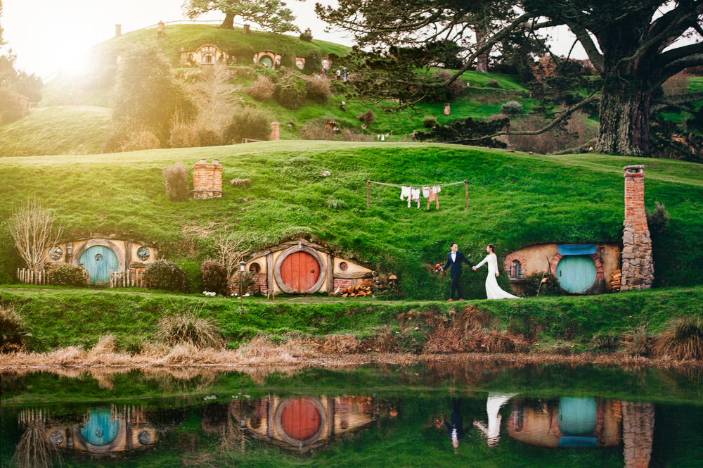 Hobbiton Pre-Wedding promotion
