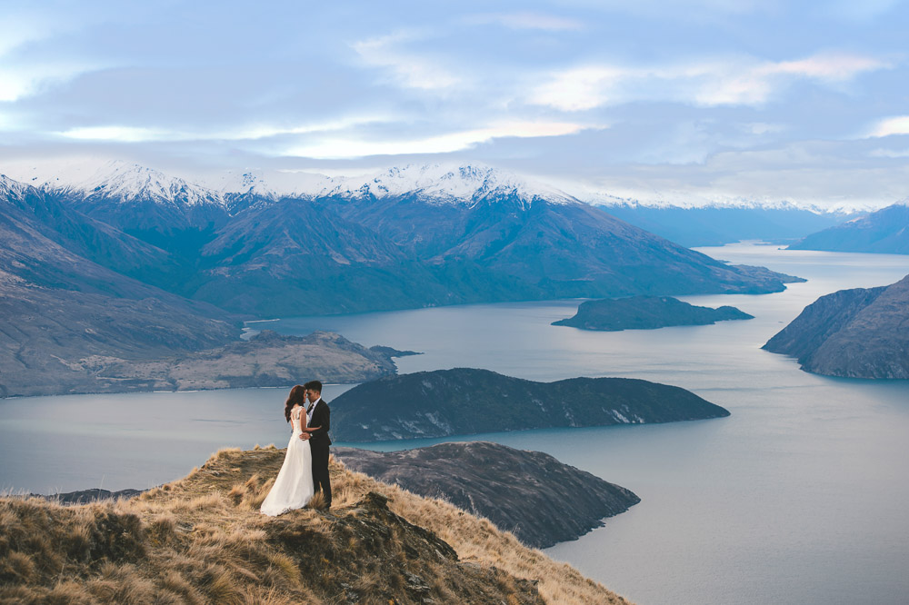 Lake Tekapo Pre-Wedding promotion